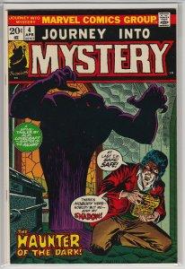 JOURNEY INTO MYSTERY (1972 MARVEL) #4 VF A06156