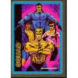 1993 Skybox Ultraverse: Series 1 SQUAD #36