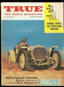 TRUE MAGAZINE AUG 1959-PULP-WITCHCRAFT-BOOKIES-PULP-FUN G