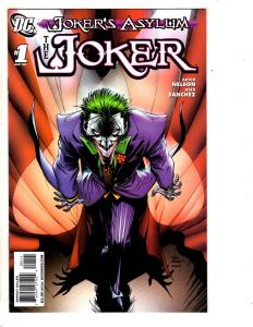 Joker's Asylum # 1 NM 1st Print The Joker DC Comic Book Gotham Batgirl Ivy SS10