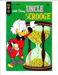 Uncle Scrooge, Walt Disney #91 (Feb-71) VF/NM High-Grade Uncle Scrooge