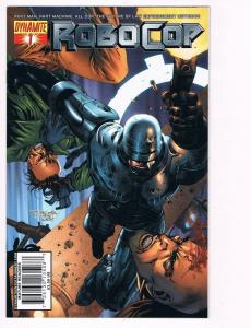 Robo Cop # 1 Dynamite Comic Books Hi-Res Scans Awesome Issue Modern Age WOW! S10