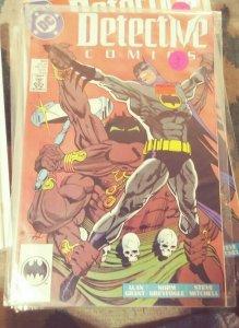 DETECTIVE COMICS  # 602 BATMAN  1989 DC   entrigan demon bruce wayne