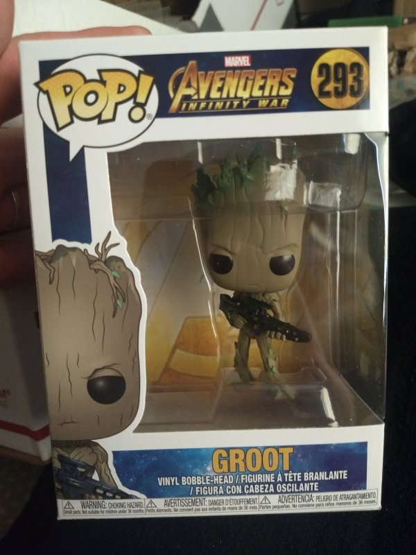 Groot Funko Pop #293 New in box