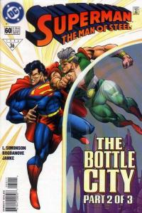 SUPERMAN: MAN OF STEEL (1991 DC) #60 NM- A93689