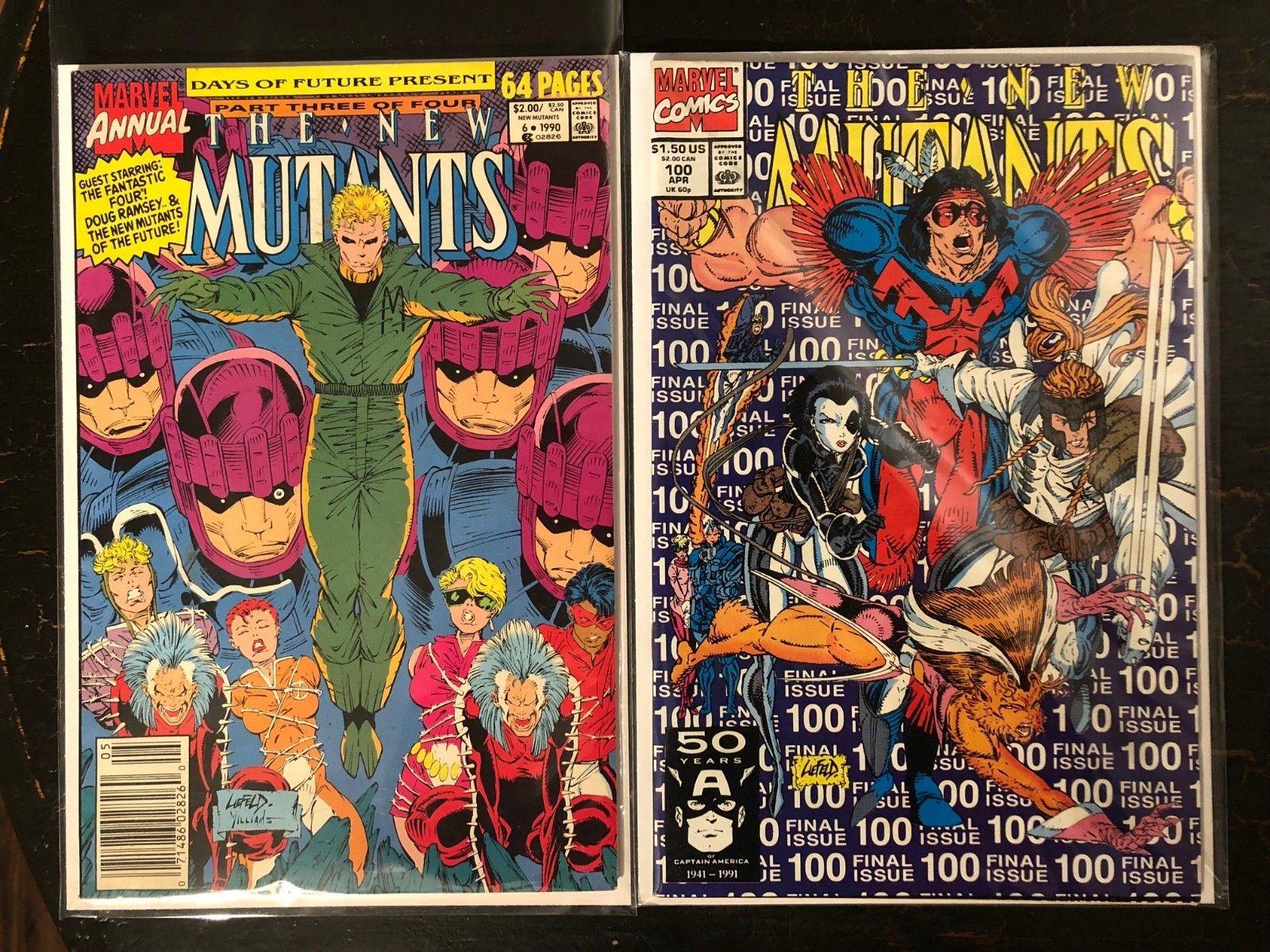 Marvel Comics New Mutants Annual #6 1984 VF//NM  1st appearance of Shatterstar