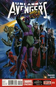 Uncanny Avengers #19 VF/NM; Marvel | save on shipping - details inside