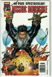 Mission: Impossible #1 VF recalled edition - error unedited - newsstand