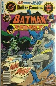 Batman family (last issue) #20 6.0 FN (1978)