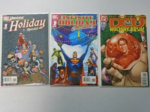 DC Holiday Specials set of 3 different comics 8.0 VF (2007-09)