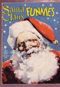 SANTA CLAUS FUNNIES #91-1945-WALT KELLY-CHRISTMAS HUMOR G