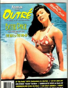 Filmfax Presents Outre World Of Ultra Media Bettie Page Art Of Pin-Up # 3 JF30