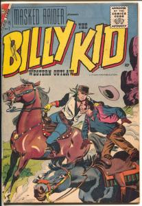 Masked Raider #7 1957-Charlton-Billy The Kid issue-rare-VG-
