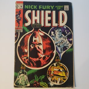 Nick Fury Agent of Shield #10