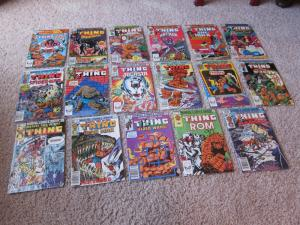 Marvel Two In One #84-100 complete run F/VF (7.0) 17 book lot (615J)