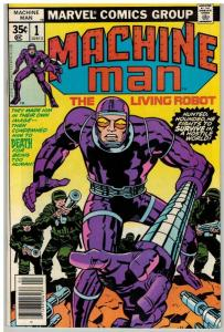 MACHINE MAN (1978) 1 VF April 1978