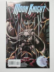 Moon Knight (Marvel v5 2008) #20 Signed by Mike Deodato Giant Sized Issue!