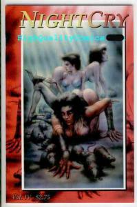 NIGHT CRY #4, NM, Femmes, 1995, Horror, Bad Blood, Blades,more indies in store
