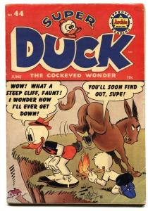 Super Duck #44 1952- Golden Age Archie Funny Animals- FN-