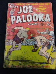 Joe Palooka #14 Harvey Comics 1947 Low Grade Copy