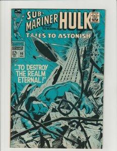 Tales to Astonish #98 (Marvel 1967) 1st App of Lord Seth Namor Hulk Silver FN-