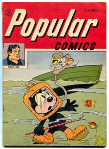 Popular Comics #139 1947- Smokey Stover- Felix diving cover FN