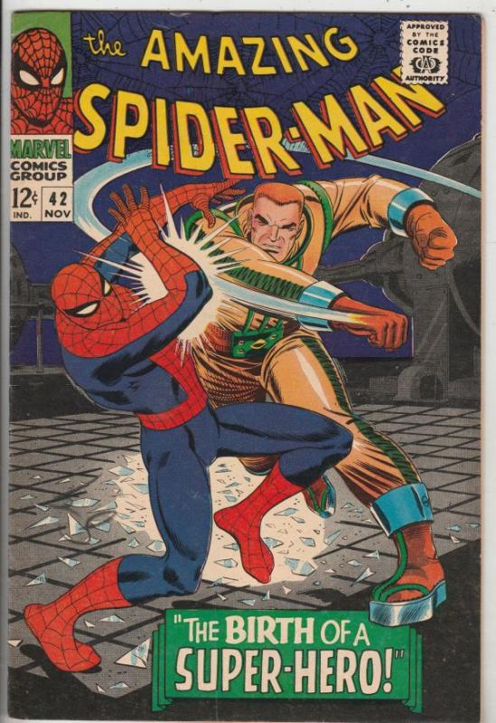 Amazing Spider-Man #42 (Nov-66) VF+ High-Grade Spider-Man