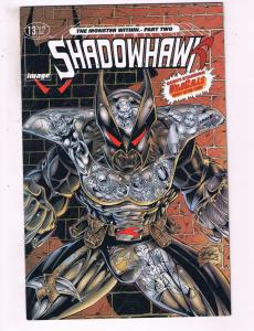 Shadowhawk #13 VF Image Comics Comic Book 1994 DE16
