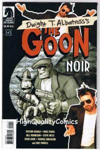 GOON NOIR 1 2 3, NM-, Mike Ploog, Eric Powell, Guy Davis, Steve Niles, 2006