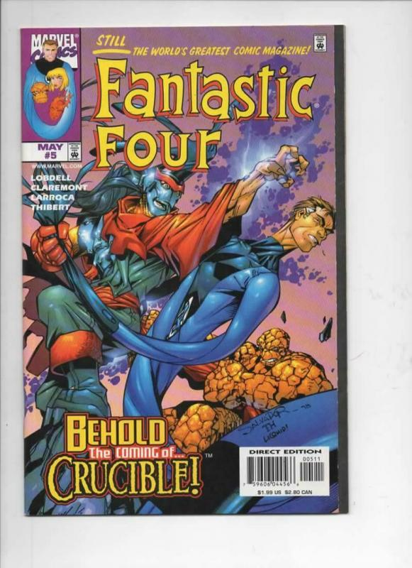 FANTASTIC FOUR #5, Vol 3, NM, Thing, Human Torch, 1998, more FF in store