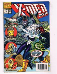 X-Men 2099 #12 VG/FN Marvel Comics Modern Age Comic Book Sept 1994 DE44