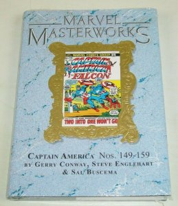 Marvel Masterworks HC 204 NEW ltd to 750 - collects Captain America #149-159