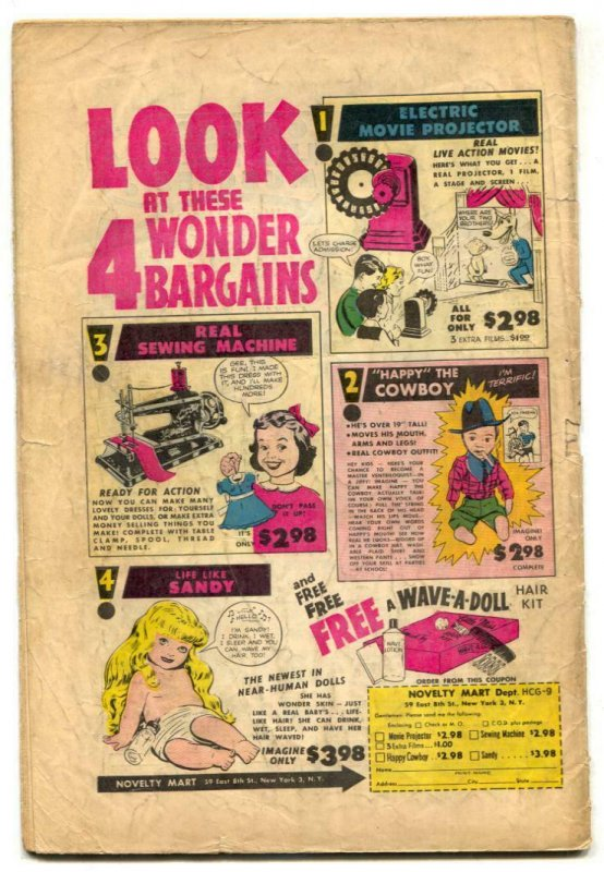 Blondie Comics #47 1952- Harvey Golden Age G