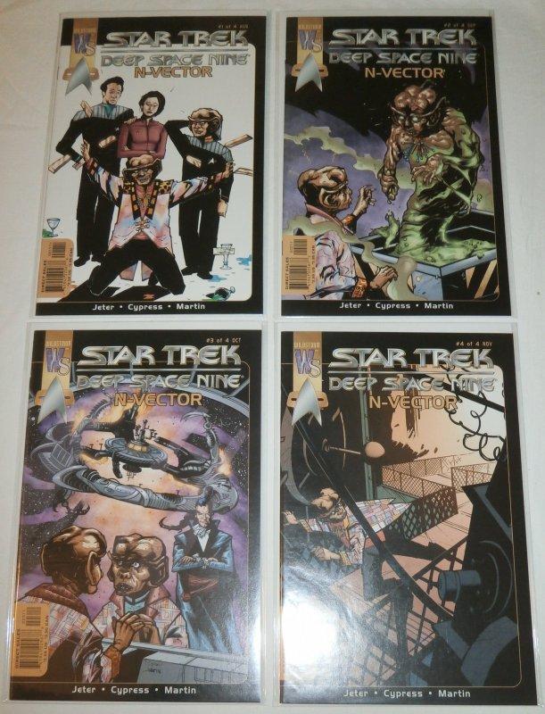 Star Trek: Deep Space Nine -- N-Vector #1-4 (complete set) Jeter/Cypress