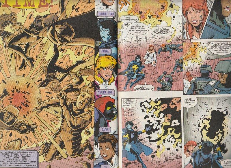 Legionnaires # 72,73,74,75,76,77 Mordru's Elementals ! Wildfire returns ?