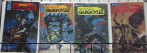 THE HUMAN GARGOYLES (Eternity, 1988) #1-4 COMPLETE! VF-NM