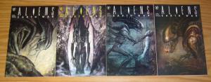 Aliens: Earth War #1-4 VF/NM complete series SAM KIETH john bolton VERHEIDEN