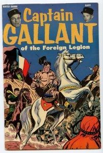 Captain Gallant of the Foreign Legion 1 1955 VF- (7.5) (Heinz version)