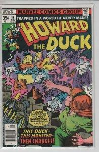 HOWARD THE DUCK (1976 Marvel Comics) #18 FN