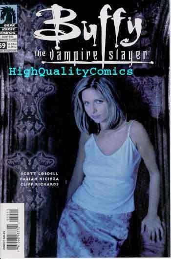 BUFFY the VAMPIRE SLAYER #59.Michele Gellar,NM//M,photo