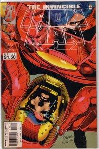 Iron Man   vol. 1  #320 GD Kavanagh/Oliveira/Melo