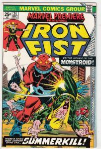 Marvel Premier #24 (Feb-75) NM/NM- High-Grade Iron Fist