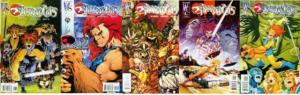 THUNDERCATS (2002 WS) 1A-5A  COMPLETE