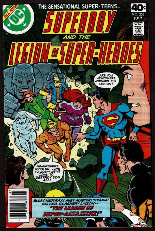 Superboy & the Legion of Super-Heroes #253 (Jul 1979, DC) VF