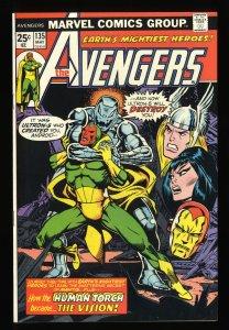 Avengers #135 VF+ 8.5 Marvel Comics Thor Captain America