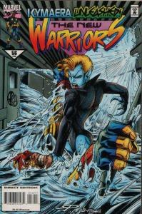 New Warriors (1990 series) #56, VF (Stock photo)