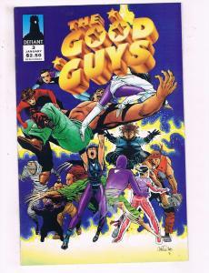The Good Guys #3 VF Defiant Comics Comic Book 1994 DE19