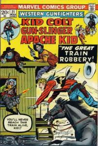 Western Gunfighters (2nd Series) #21 VG; Marvel | low grade comic - save on ship