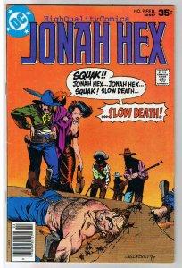 JONAH HEX #9, VF, Ernie Chan, Bernie Wrightson,1977, more JH in store