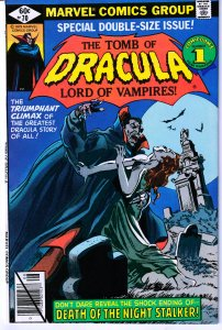 Tomb of Dracula(vol. 1) # 70  Series Finale !